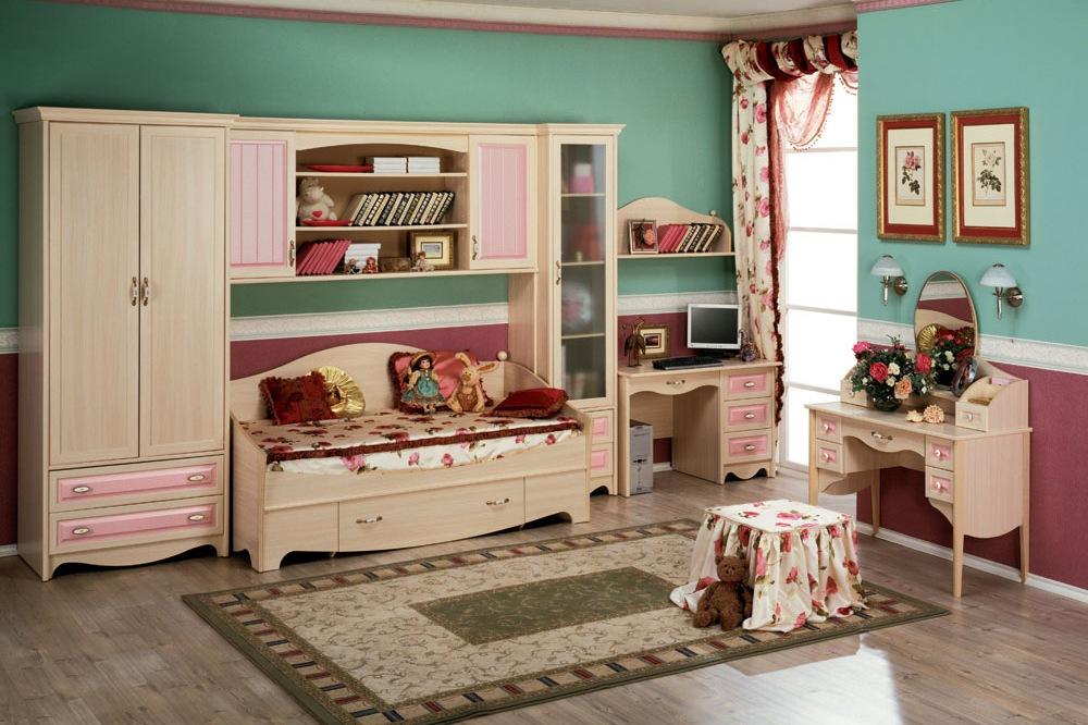 Детская Николь розовая