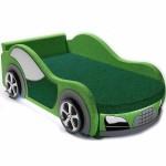 Детский диван машинка Ауди зеленый