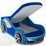 Детский диван машинка Ауди синий