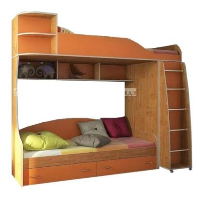 Фанки Кидз 12 СВ Кровать двухъярусная