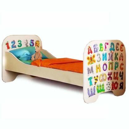 Кровать Алфавит ФБ КР-6 80x190