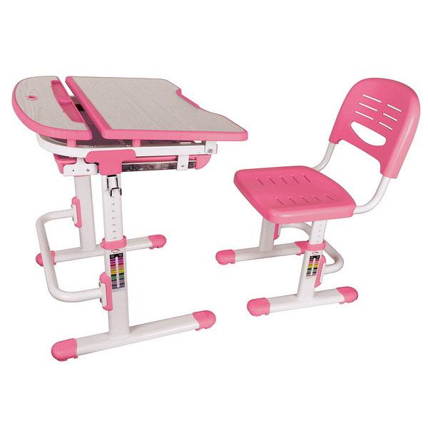 Детская парта трансформер для детей от 2х лет вместе с растущим стульчиком может быть выполнен в двух цветах