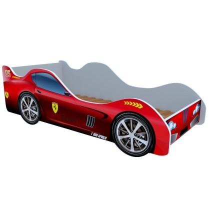 Кровать-машинка F1 красная