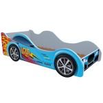 Кровать-машинка Маквин 95 синяя