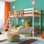 Двухъярусная кровать Соня 10 из массива