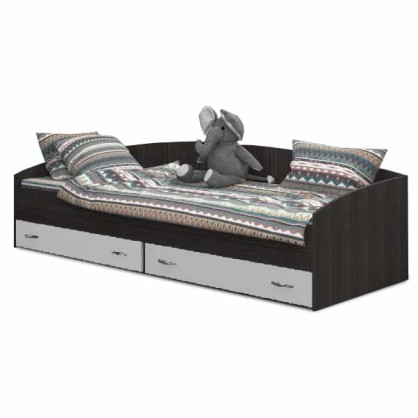 Детская кровать Ярофф с 2-мя ящиками