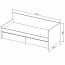 Кровать диван Твист Олли схема с размерами