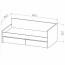 Кровать диван малая Твист Олли схема с размерами