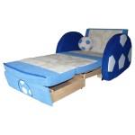 Детский диван Мяч синий