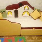Детский диван Теремок - фото отзыв 3