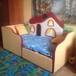 Детский диван Теремок - фото отзыв 5