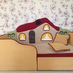Детский диван Теремок - фото отзыв 9