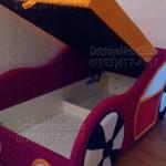 Детский диван Машинка фото отзыв 3