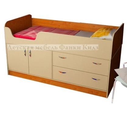 Фанки Кидз 9 СВ Кровать-чердак низкая