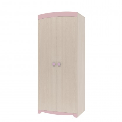 шкаф для одежды двухдверный роза