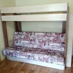 Двухъярусная кровать с диваном внизу - фото отзыв 1