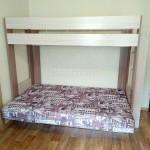 Двухъярусная кровать с диваном внизу - фото отзыв 3